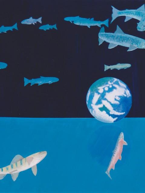 岩魚と地球(2000)