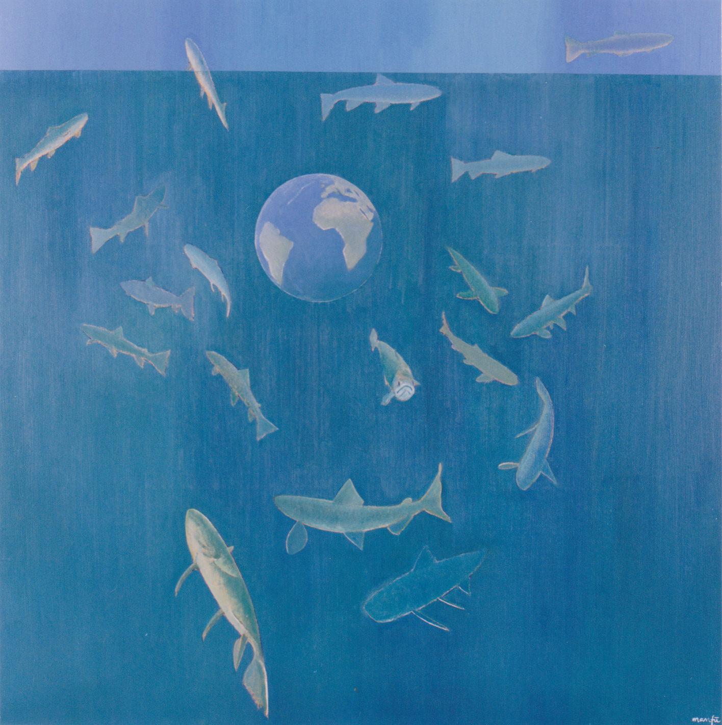 岩魚と地球